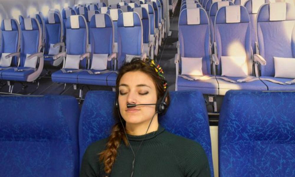 Des Toulousains inventent un casque contre le stress en avion