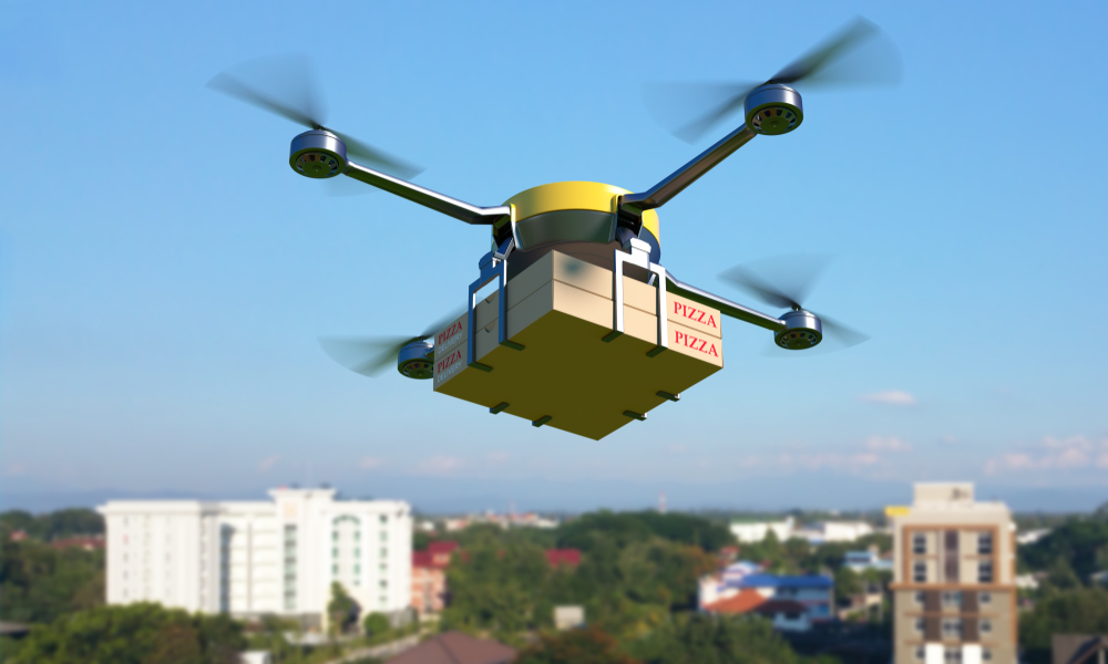 Uber Eats veut livrer vos repas avec des drones