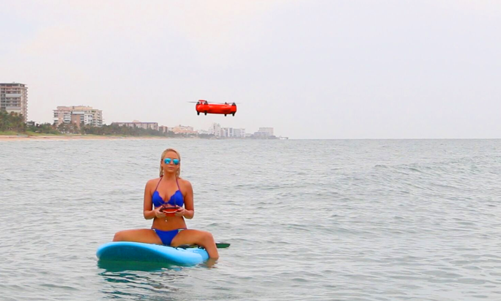 Spry, le premier drone étanche capable de plonger sous l'eau