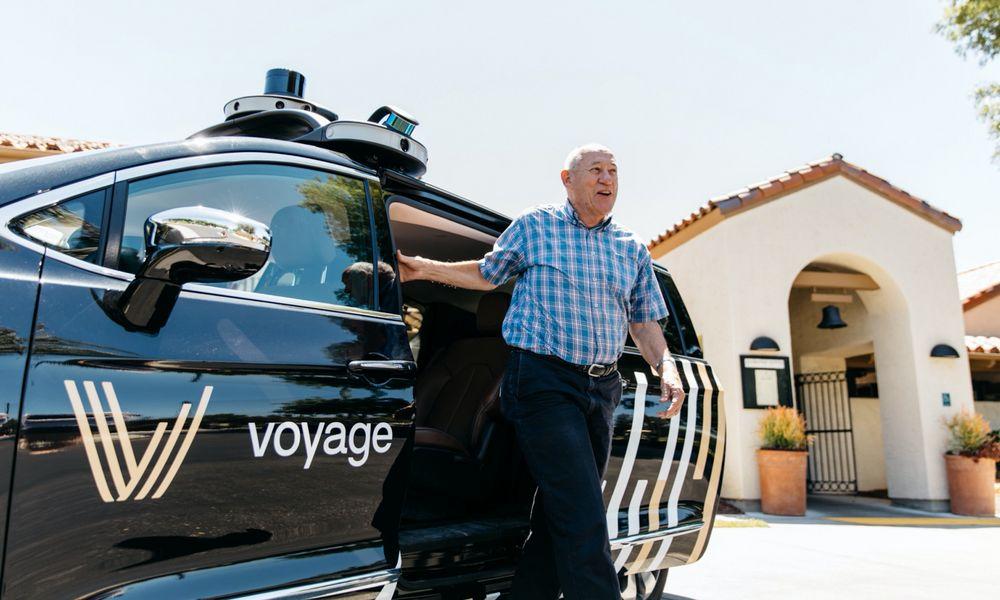 En Floride, les seniors se déplacent déjà en taxis autonomes