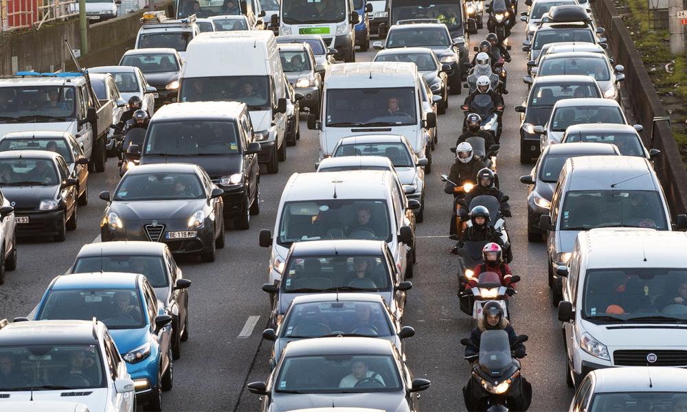 La pire journée pour rouler en Île-de-France ? C'est le jeudi