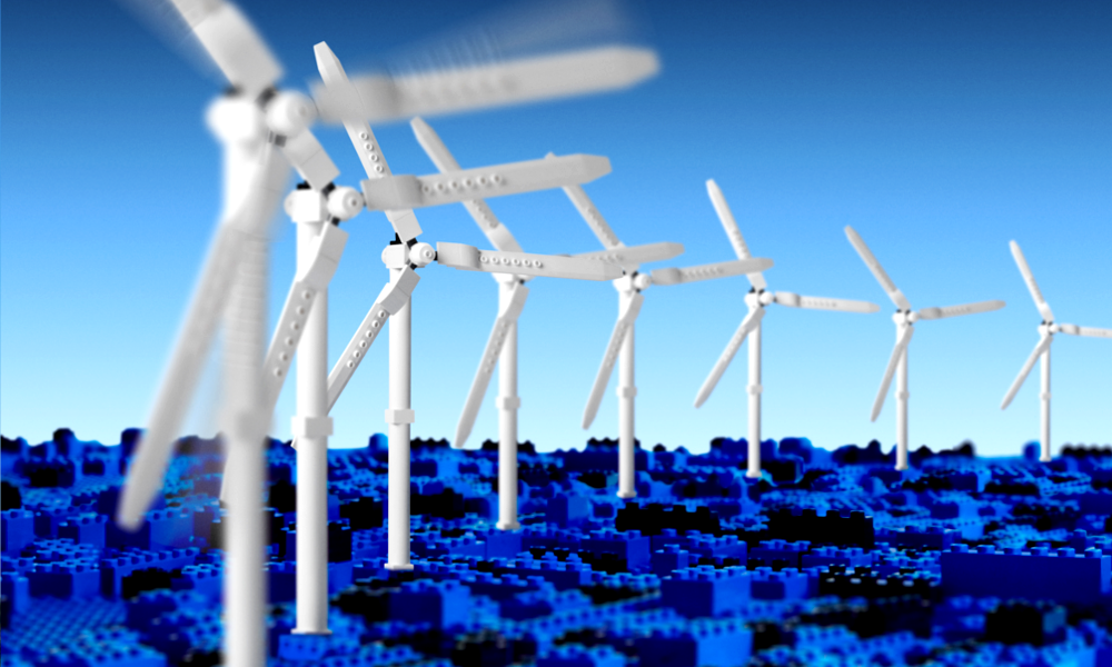 Eoliennes LEGO