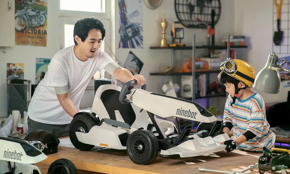 """Oui, il est possible de transformer son Segway en """"Mario Kart"""""""