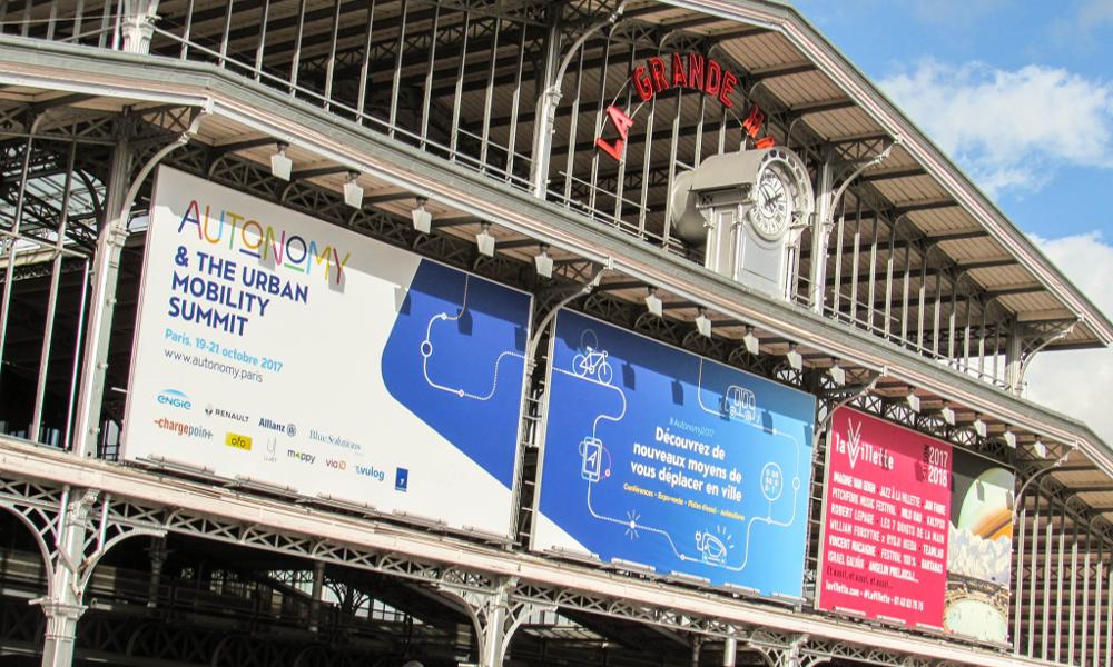 Pendant le salon Autonomy, Paris devient la capitale européenne de la mobilité