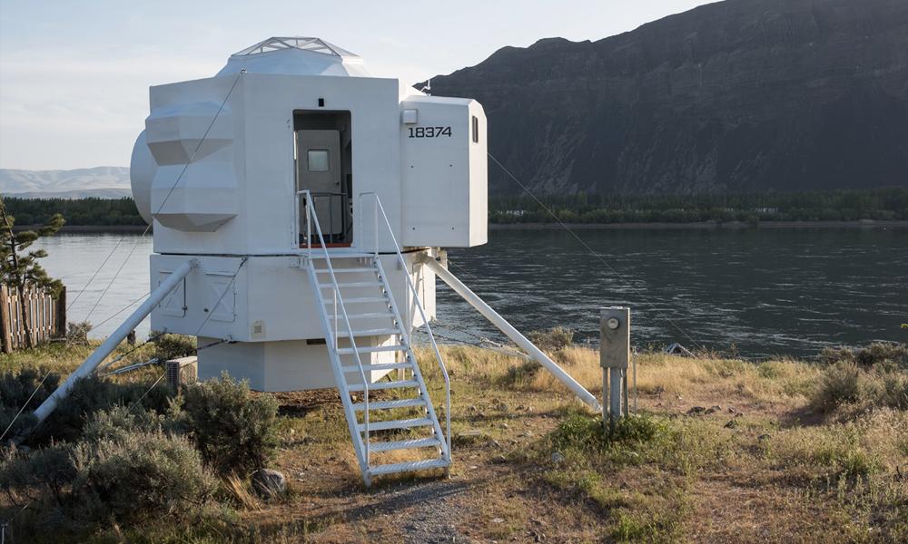 Tout oublier dans cette maison inspirée par un module lunaire de la NASA
