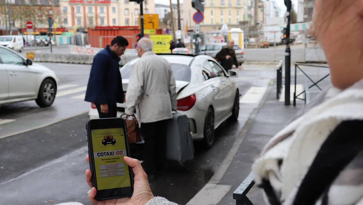 Cotaxigo: un service de covoiturage en taxi