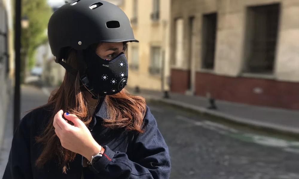 Enfin un masque anti-pollution efficace pour les cyclistes