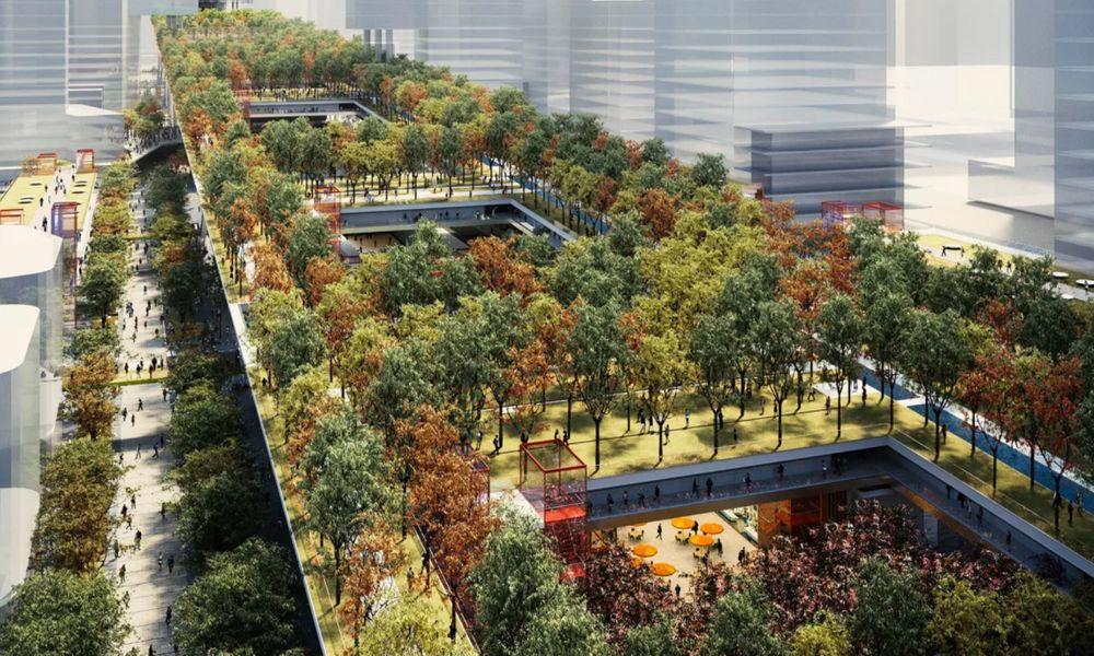 La Chine invente l'autoroute-forêt