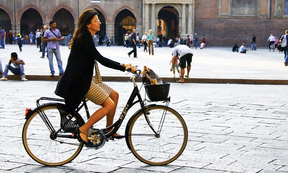 En Italie, on offre des bières à ceux qui roulent à vélo
