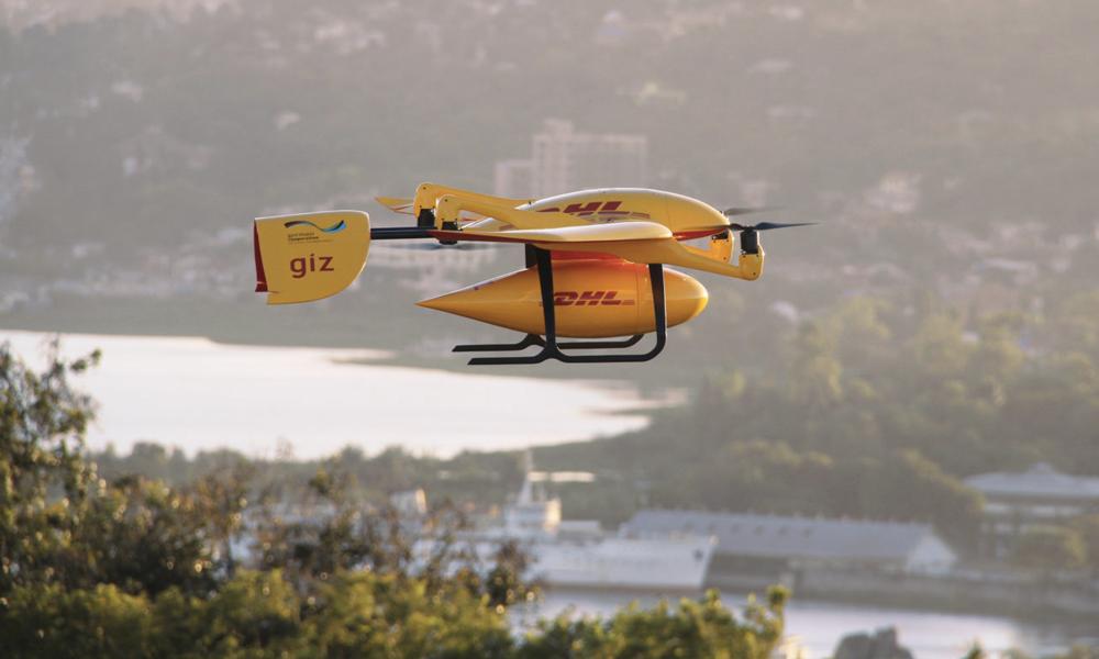 Des drones livreurs de médicaments en Afrique
