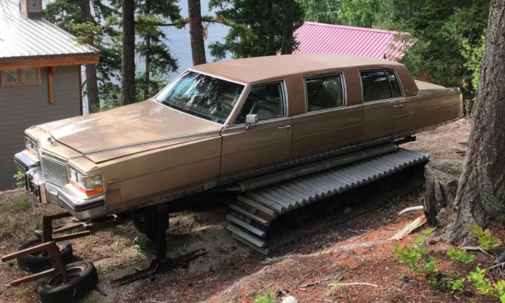 Une limousine-tank, voilà ce qu'il vous faut pour partir en week-end