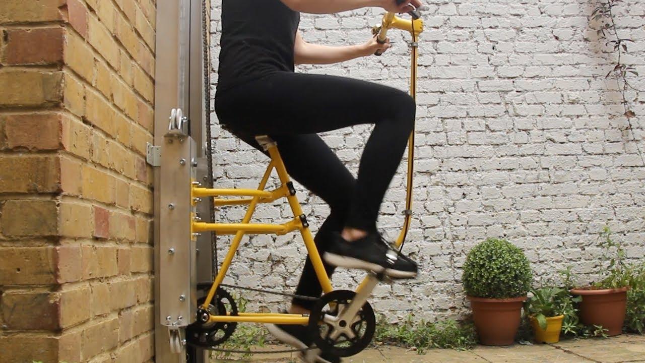 Un vélo-ascenseur pour gaspiller moins d'énergie (et rester en forme)