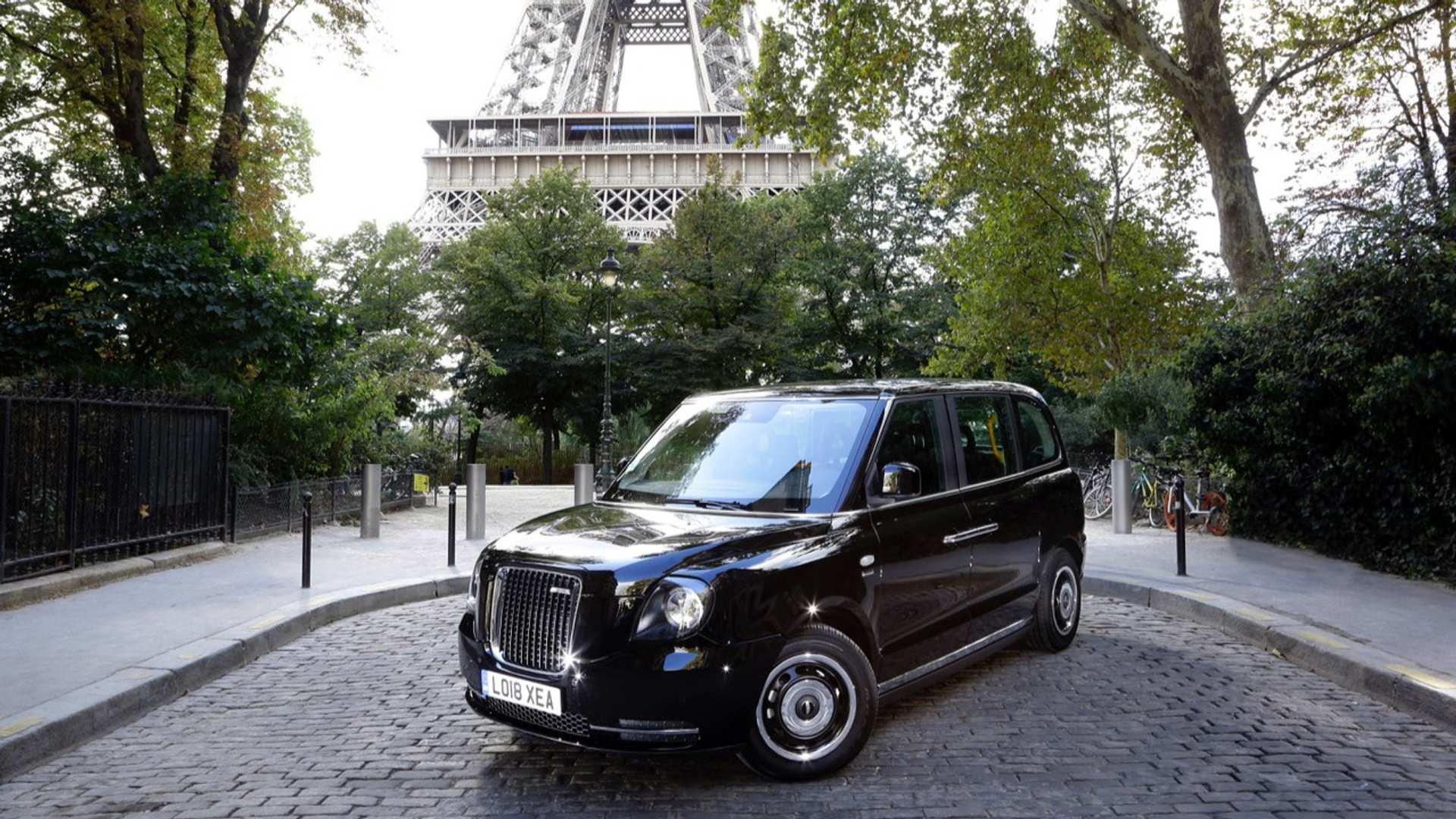 Les taxis anglais arrivent à Paris (et ils ne polluent pas)