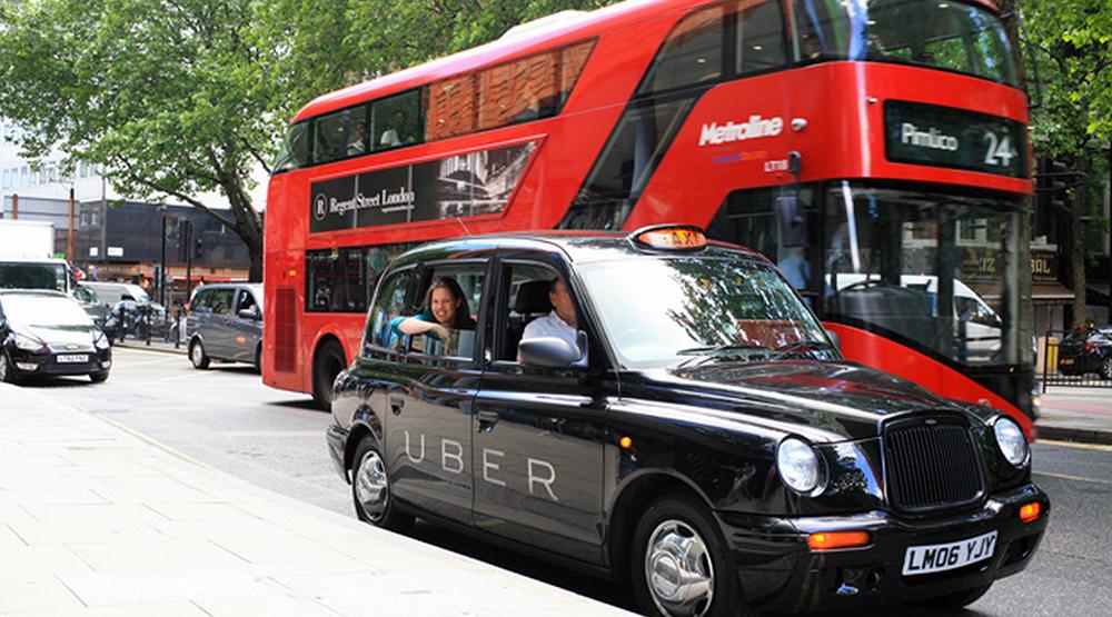 Les 45 000 Uber londoniens rouleront à l'électrique d'ici 2025