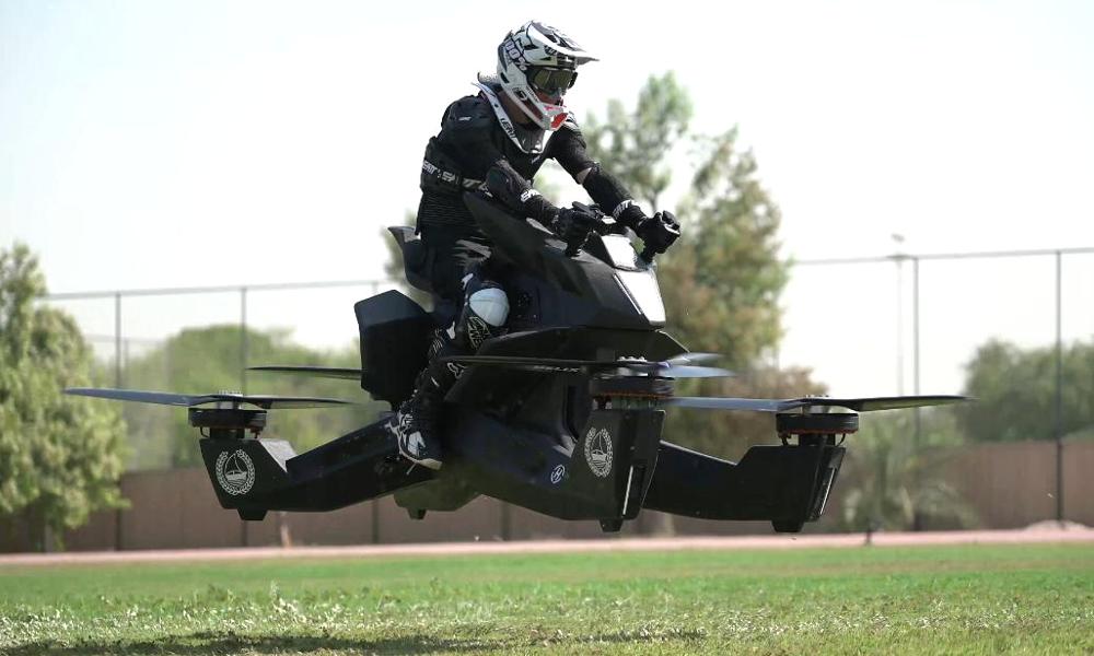 La première moto volante enfin en vente