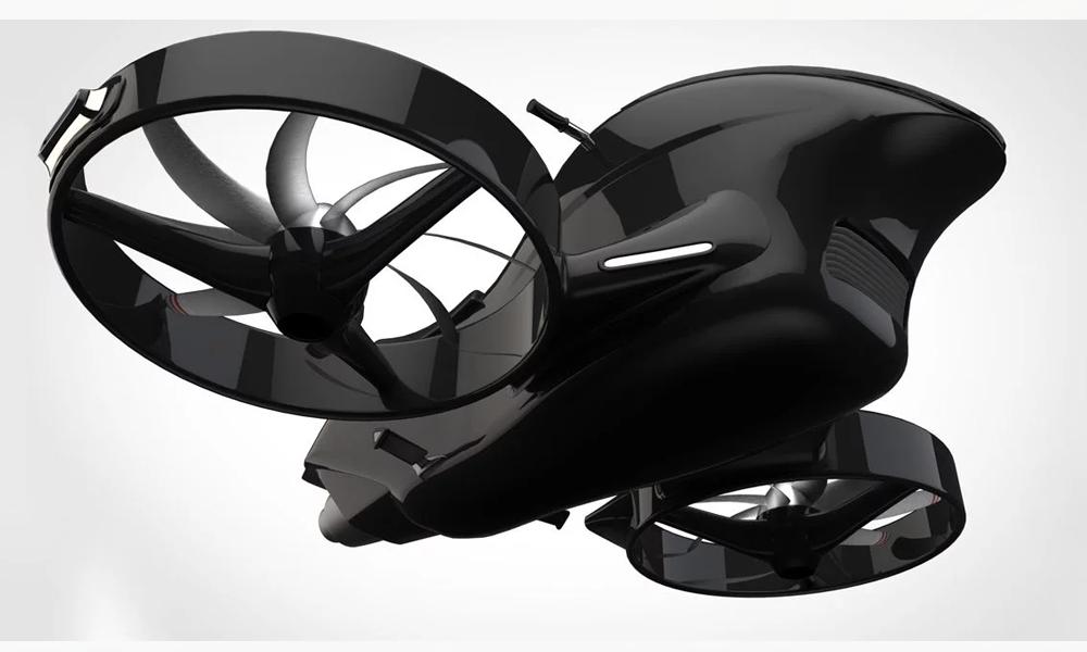 Cool comme jamais sur cette moto électrique imprimée en 3D