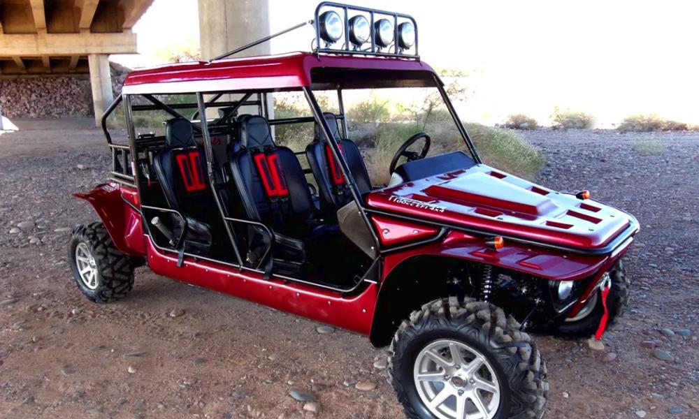 Isard, le buggy électrique pour ne plus polluer la campagne
