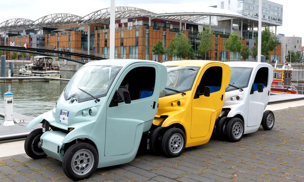 Lyon va tester des voitures qui s'encastrent comme des caddies