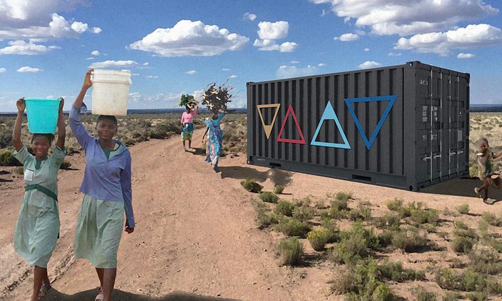 Cette machine transforme l'air en eau potable