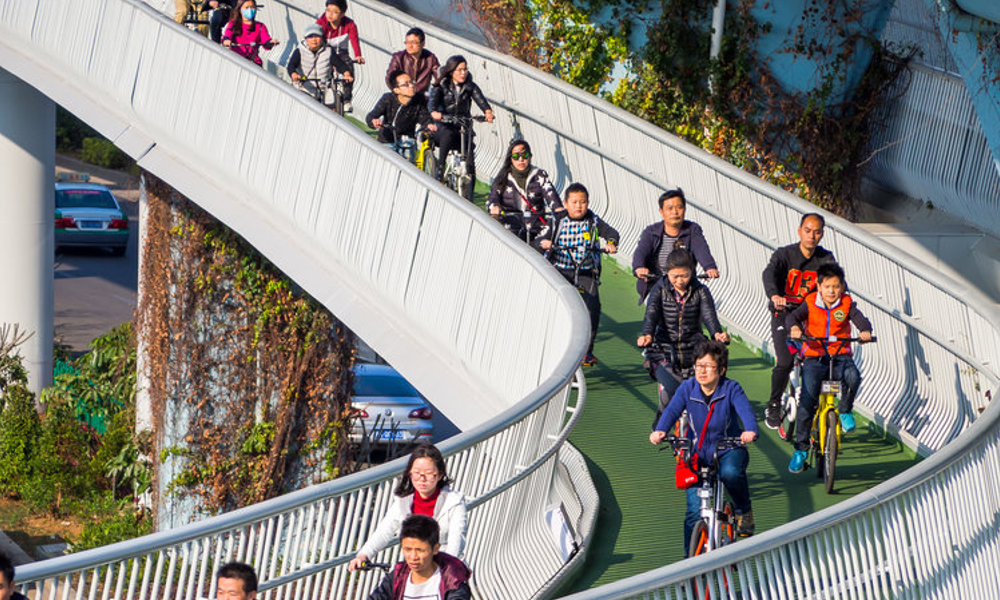 Xiamen voie cyclable