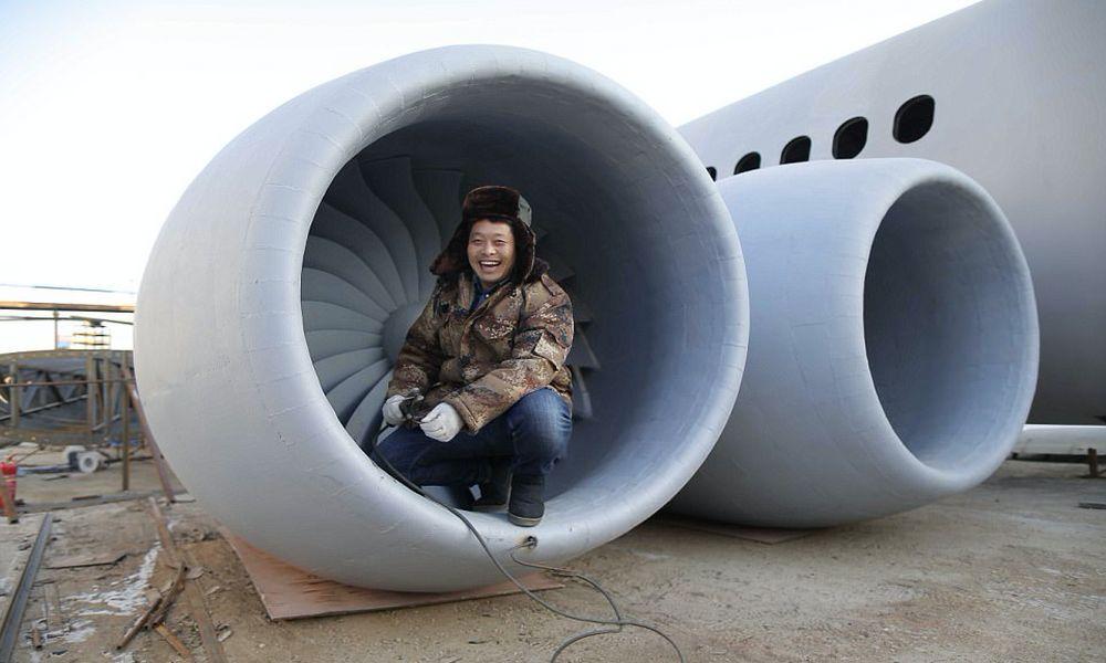 Un Chinois a construit son propre Airbus pour ouvrir un restaurant