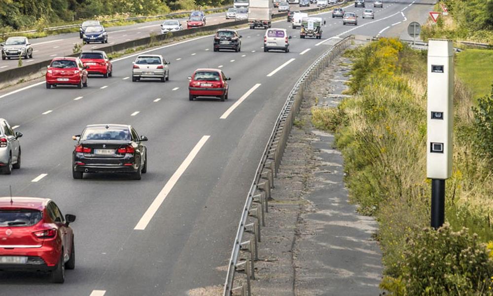 La Tourelle, le nouveau radar qui peut flasher 32 voitures en même temps