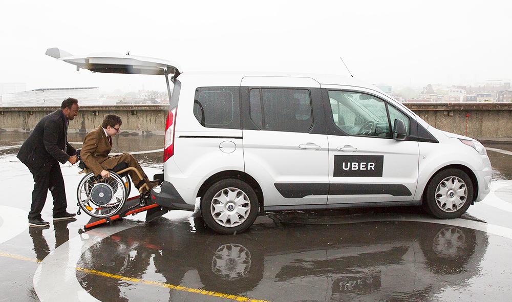 Uber bientôt plus accessible aux personnes à mobilité réduite