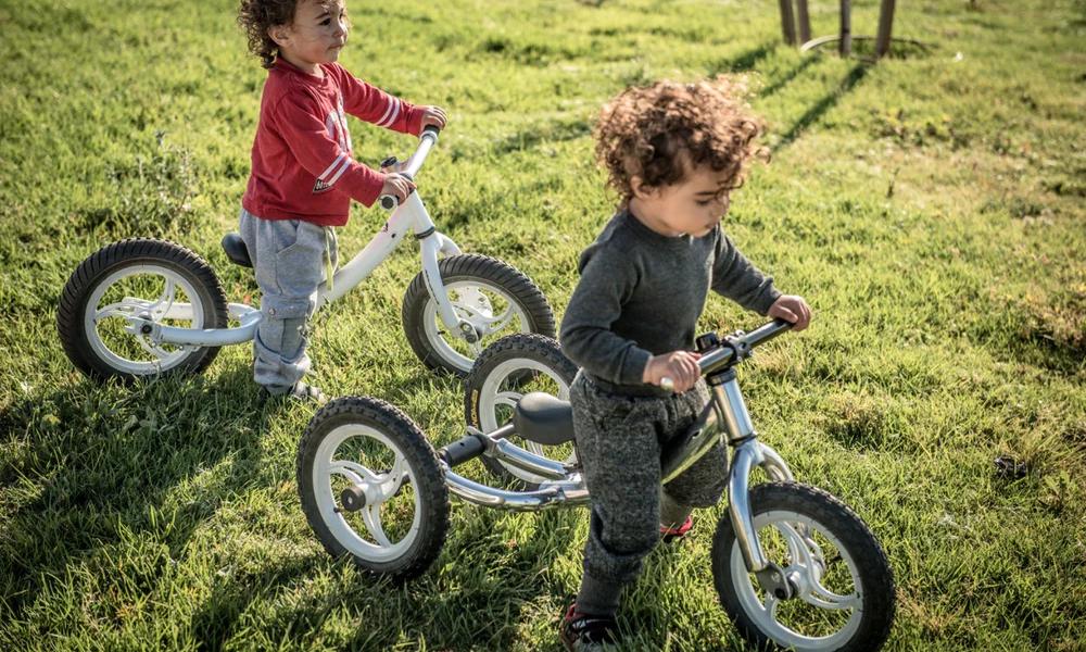 Ce vélo grandit en même temps que votre enfant