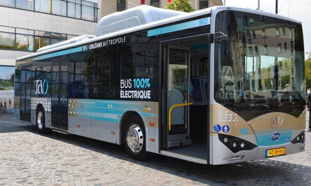 Orléans, première ville française à passer aux bus 100% électriques