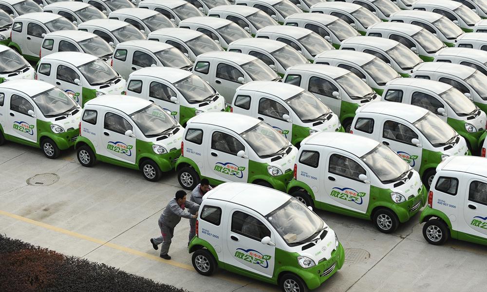 En Chine, tous les propriétaires de voitures électriques sont fliqués par le gouvernement