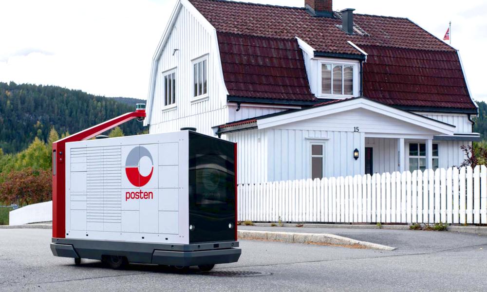 En Norvège, la poste teste les robots-facteurs