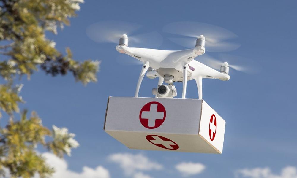 Elles arrivent : les livraisons d'organes par drone