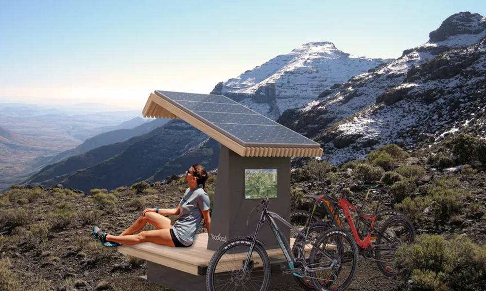 Made in Grenoble : des stations de recharges solaires pour VTT