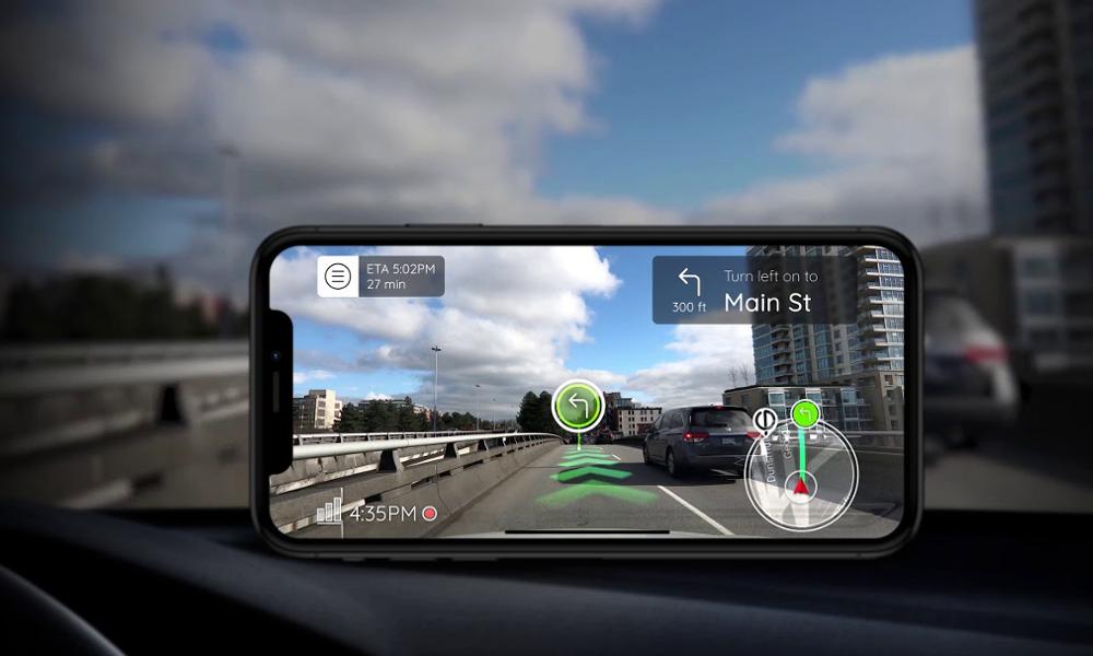 Bientôt la fin des accidents grâce au GPS en réalité augmentée ?
