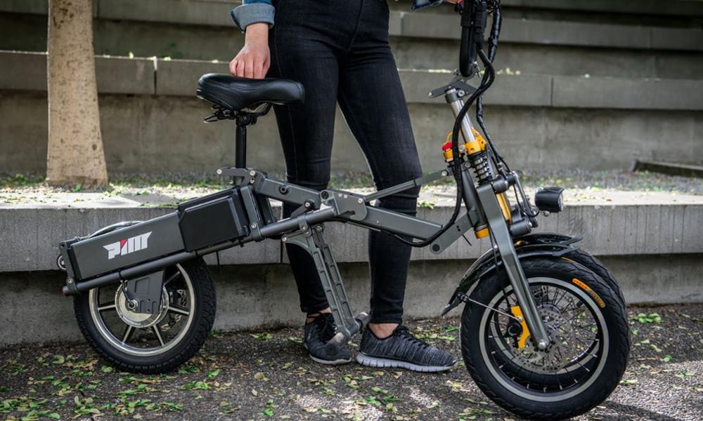 Ce scooter électrique se plie en 1 seconde