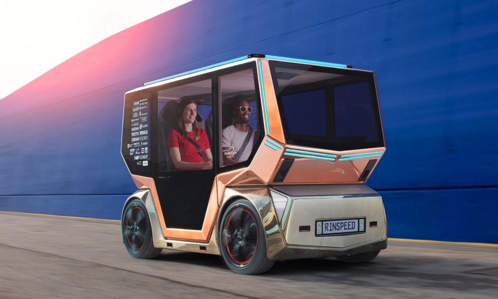 Des Suisses inventent le taxi autonome de vos rêves