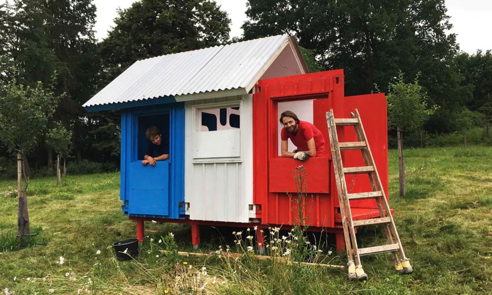 """France, la """"tiny house"""" qui se construit en 3 heures"""