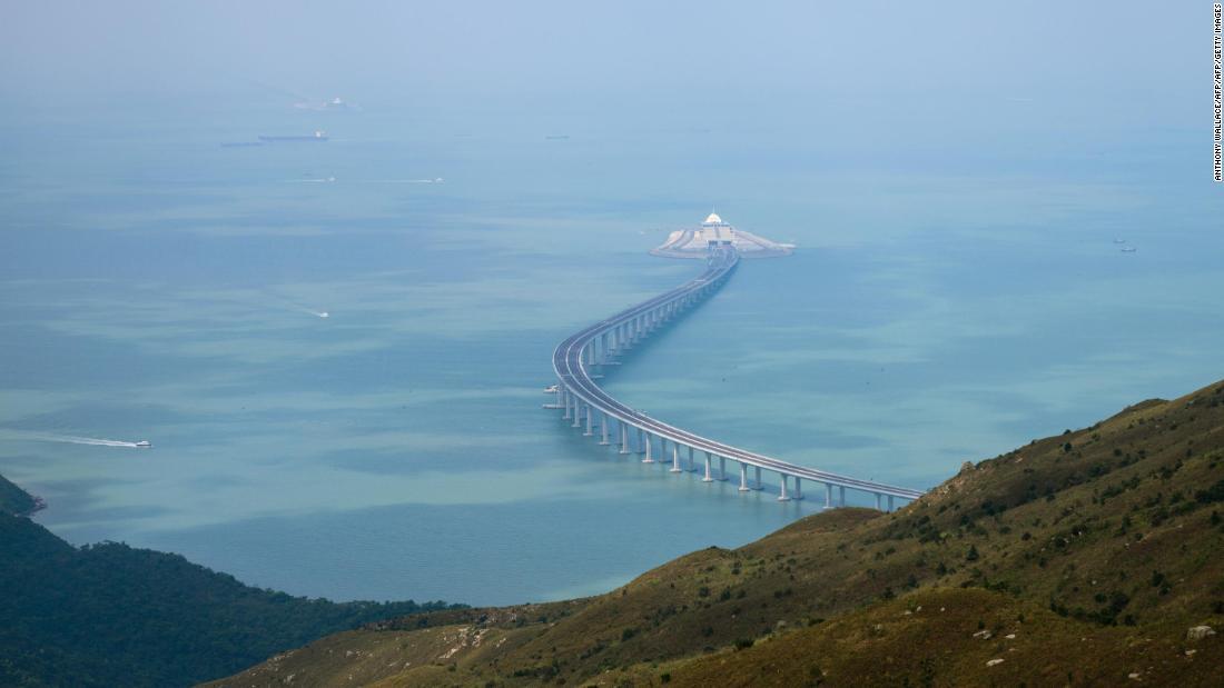 La Chine inaugure le plus grand pont du monde