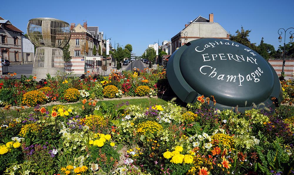 Epernay, ville française championne de la mobilité électrique