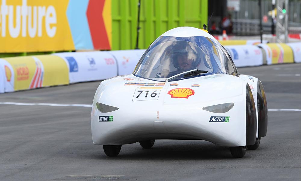 Cette voiture roule 190 kilomètres avec 17 centimes d'électricité