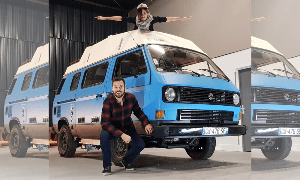 Ils plaquent tout pour un tour du monde en combi VW solaire