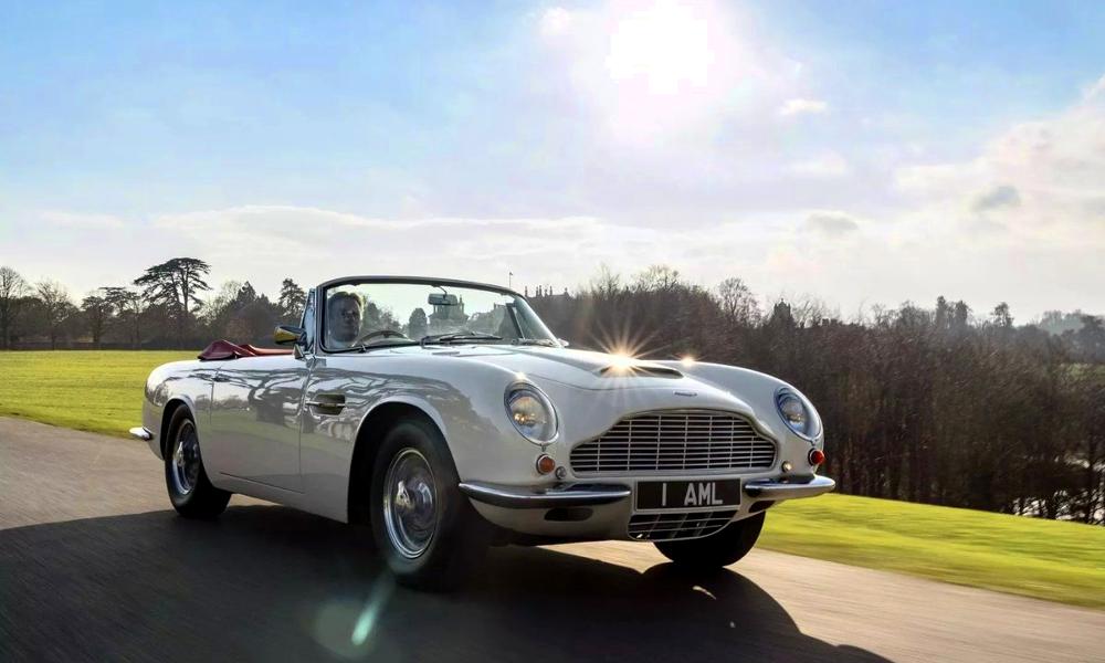 Prévenez James Bond, il existe un kit pour convertir les voitures de collection à l'électrique