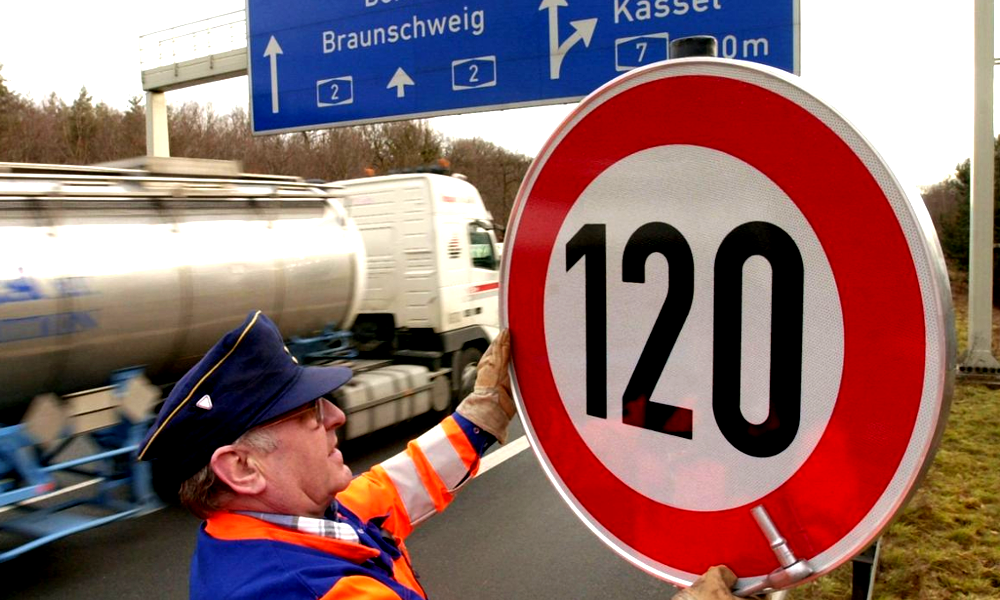 La fin d'un mythe : les autoroutes allemandes sans limitation de vitesse, c'est bientôt fini