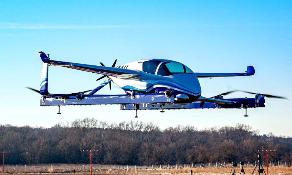 Boeing annonce le décollage de son taxi autonome