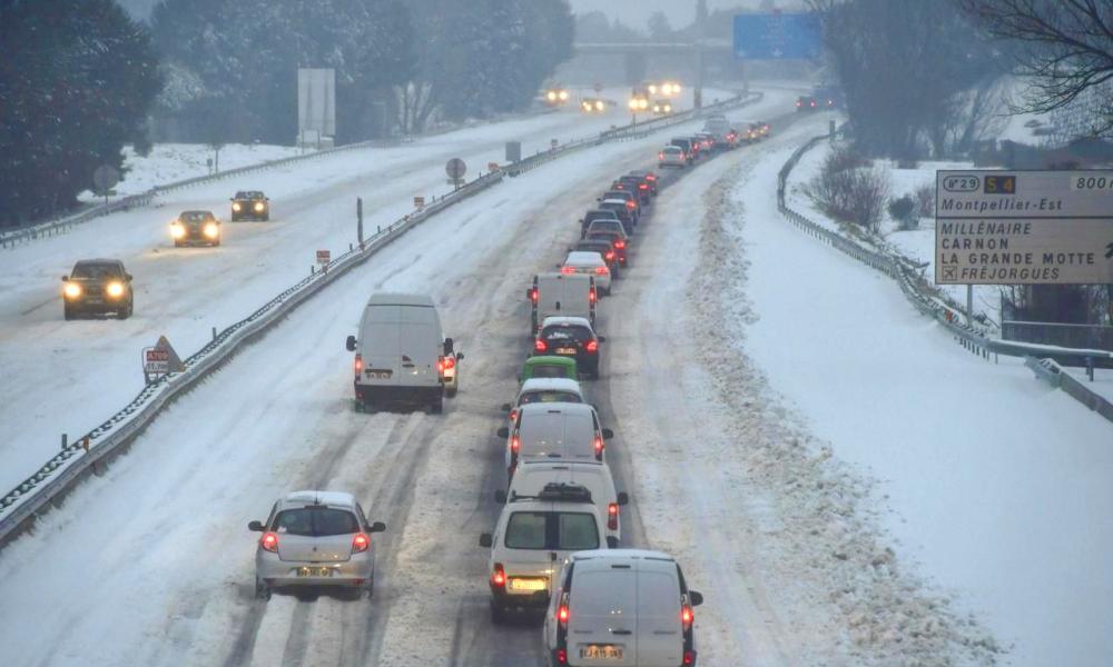 Bientôt en Europe, des routes chauffantes pour faire fondre la neige en 15 minutes