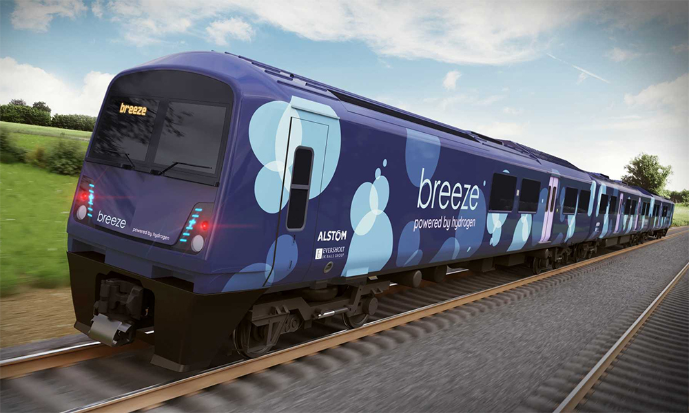 En Angleterre, les vieux trains polluants vont passer à l'hydrogène