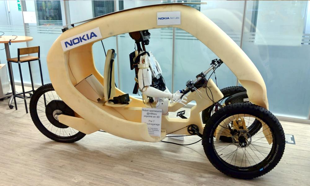 Allo, Nokia a dévoilé un vélo solaire qui se connecte en 5G