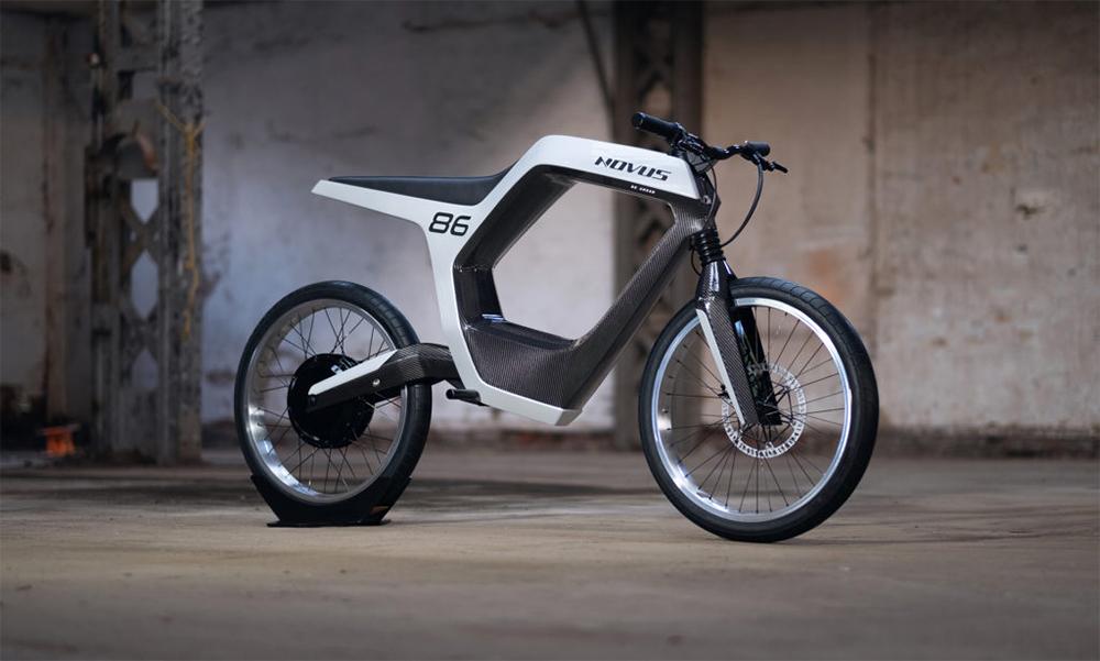 Plus jamais en retard au bureau avec cette moto électrique de rêve