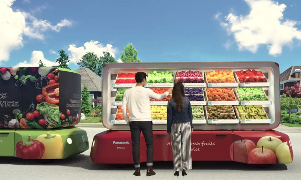 Cette supérette autonome peut vous livrer des légumes partout