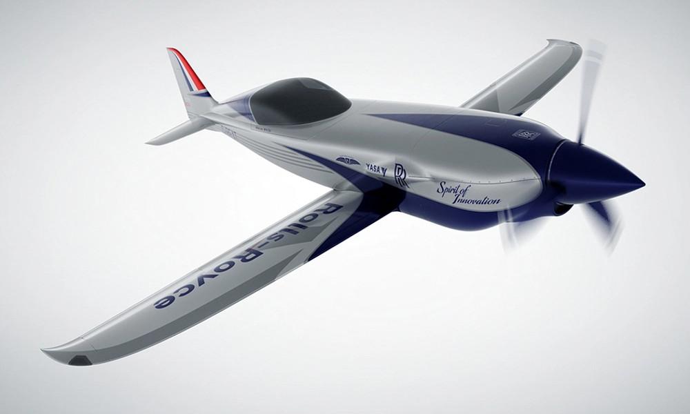 Rolls-Royce prépare l'avion électrique le plus rapide du monde